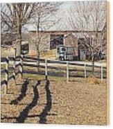Ontario Farm Wood Print