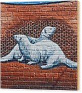 Ontario Heritage Mural 3 Wood Print