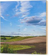 Ontario Interlude Wood Print