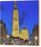 Onze-lieve-vrouwekathedraal Cathedral Wood Print