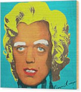 Oompa Loompa Blonde Wood Print