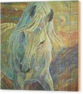 Opal Dream Wood Print by Silvana Gabudean