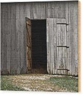 Open Doorways Wood Print