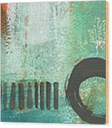 Open Gate- Contemporary Abstract Painting Wood Print