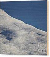 Open Ski Trail St Moritz Wood Print