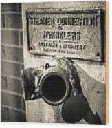Open Sprinkler Wood Print