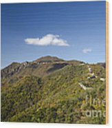 Open View 2 Of The Great Wall Mutianyu Section 603 Wood Print