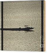 Open Waters Triptych Wood Print
