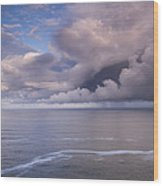 Opening Clouds Wood Print by Andrew Soundarajan