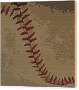 Opening Day Dream Wood Print