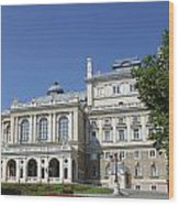 Opera And Ballet Theater Odessa Wood Print