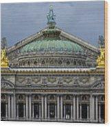 Opera Garnier Wood Print