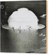 Operation Crossroads Wood Print by Benjamin Yeager