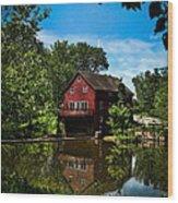 Opie's Grist Mill Wood Print