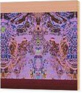 Opositecolorsmix Wood Print
