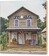 Opry House - Square Wood Print