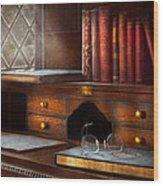 Optometrist - Glasses - Career Paths  Wood Print