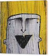 Or As Human As You Know It No 148 Wood Print by Mark M  Mellon