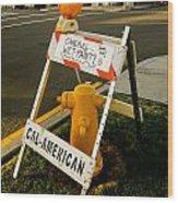 Orange And Ninth Coronado California Wood Print