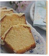 Orange Cake Wood Print