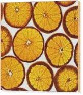 Orange Fresh Wood Print by Vitaliy Gladkiy