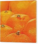 Orange Oranges Wood Print