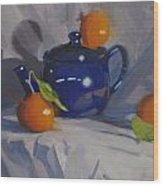 Orange Pekoe Tea Wood Print