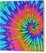 Orange Pink And Blue Tie Dye Spiral Yoga Mat For Sale By