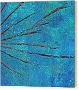 Orange Rays Wood Print by Kenneth Feliciano