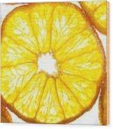 Orange. Wood Print