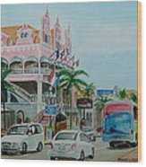 Oranjestad Aruba Wood Print
