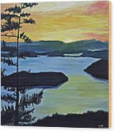 Orcas Island Wood Print