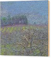 Orchard Wood Print