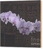 Orchids Loretta Wood Print