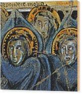Order Of Cherubim Angels - Study No. 2 Wood Print