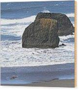 Oregon Coast Panorama Wood Print