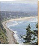 Oregon Coast View Wood Print