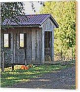 Oregon Covered Bridge Wood Print
