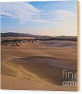 Oregon Dunes Landscape Wood Print
