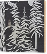 Oregon Forest Wood Print by Estephy Sabin Figueroa
