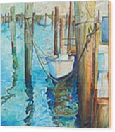 Oregon Inlet Wood Print