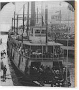 Oregon Steamboat, C1906 Wood Print