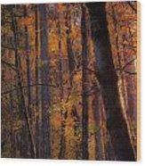 Oregon Twilight Wood Print by John Magnet Bell