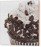 Oreo Cookie Cupcake 3 Wood Print