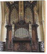 Organ Chapel Royal - Dublin Castle Wood Print