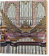 Organ In Cordoba Cathedral Wood Print