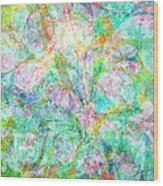 Organic Colors By Jan Marvin Wood Print