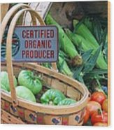 Organic Wood Print