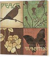 Organic Nature 1 Wood Print