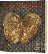 Organic Valentine Wood Print